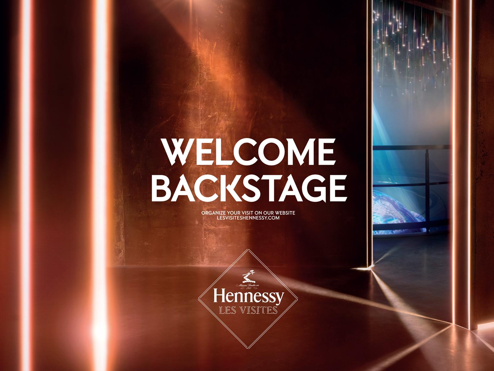 Hennessy Les Visites campaign
